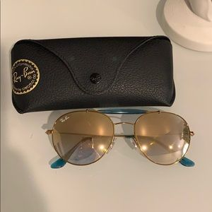 Authentic Ray-ban sunglasses with case
